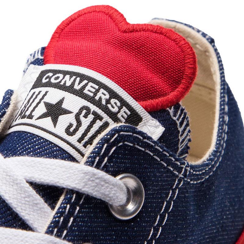 Джинсовые кеды Converse Chuck Taylor All Star Ctas Ox