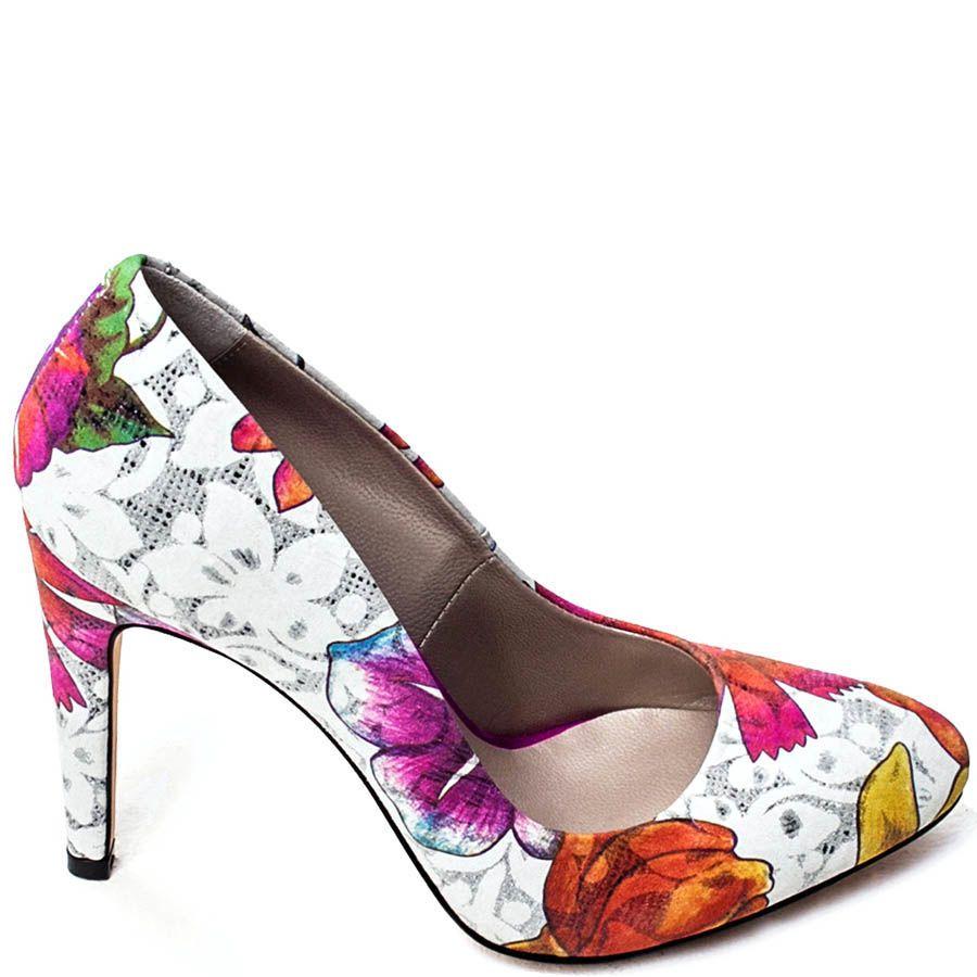 Туфли лодочки Modus Vivendi с цветочным принтом