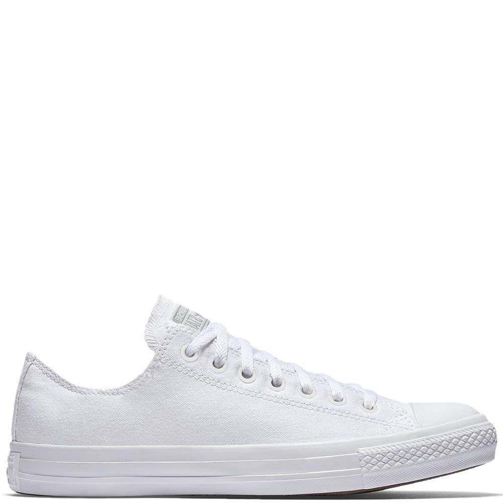 Классические низкие кеды Converse Chuck Taylor All Star Monochrome белого цвета