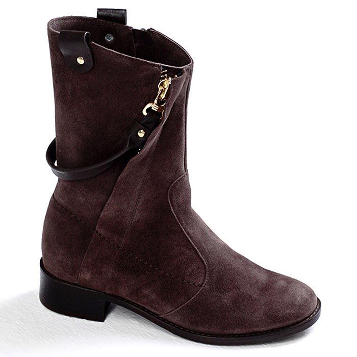 Ботинки женские Modus Vivendi коричневого цвета