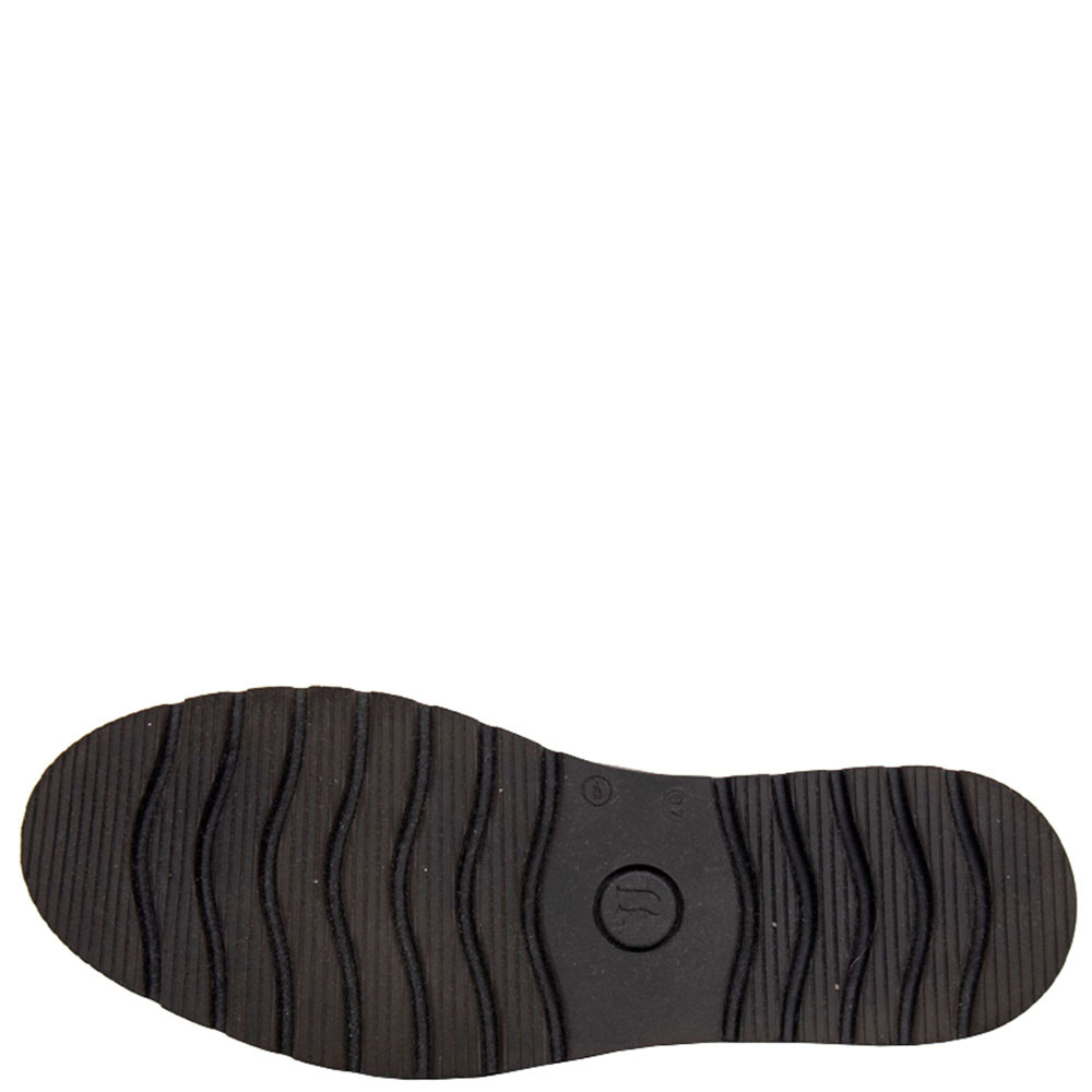 Черные туфли Trussardi Jeans с бахромой