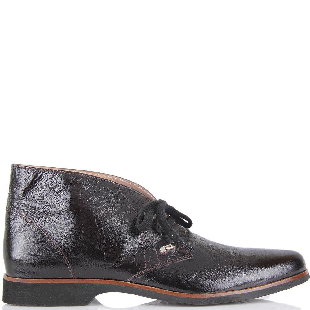 Демисезонные ботинки Pakerson на низком ходу коричневые