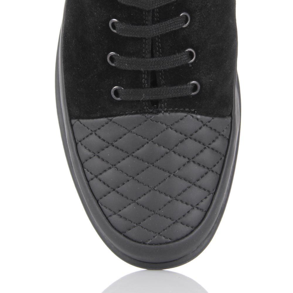 Женские ботинки Pakerson из замши и кожи на термоутеплителе