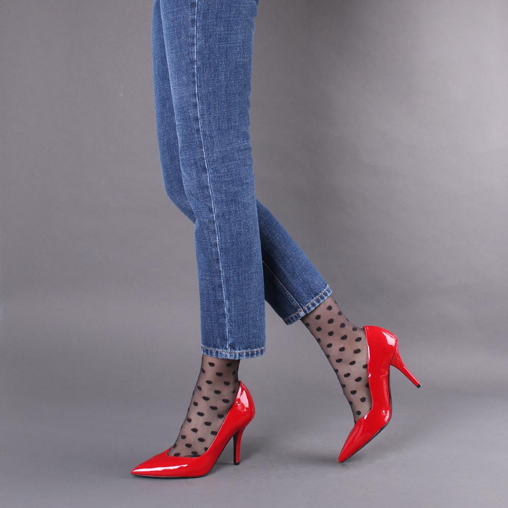 Туфли Bianca Di из лаковой кожи с острым носочком
