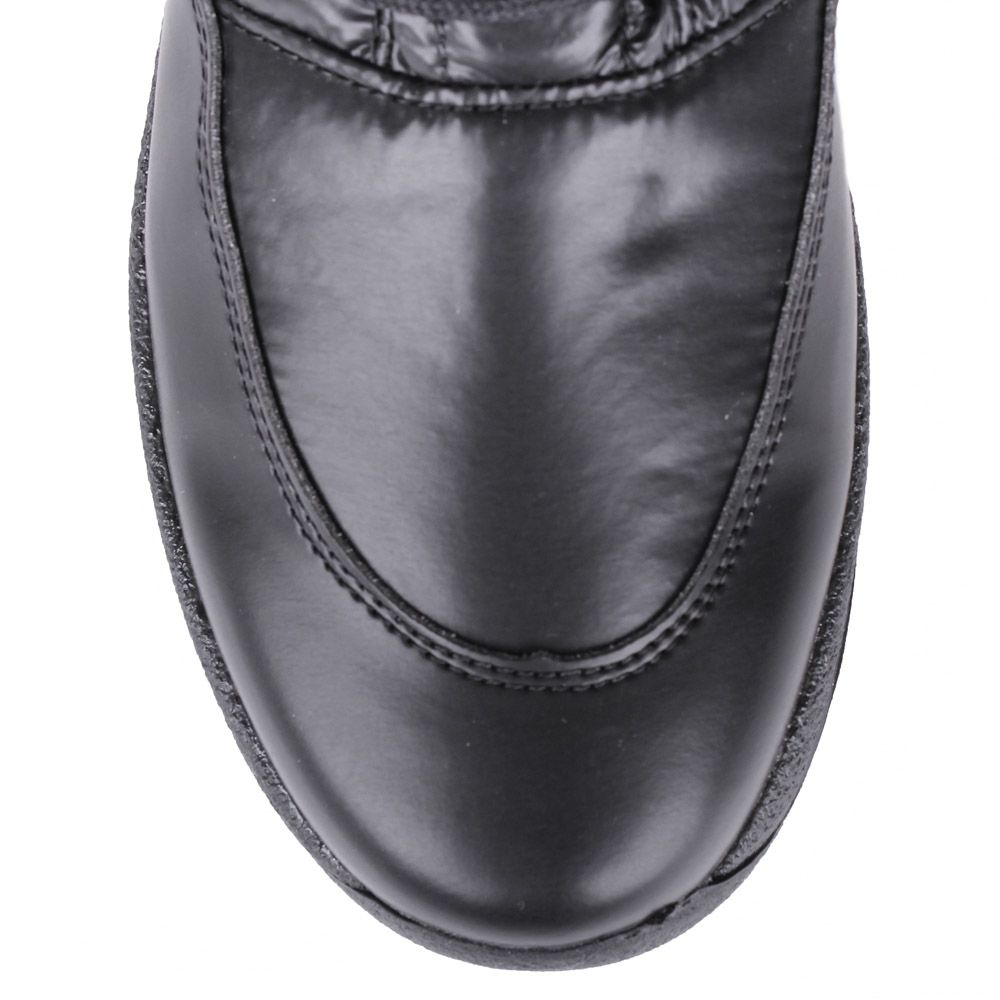 Полусапоги-дутики Bressan черного цвета