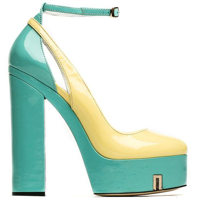Открытые туфли Modus Vivendi на высоком каблуке и платформе