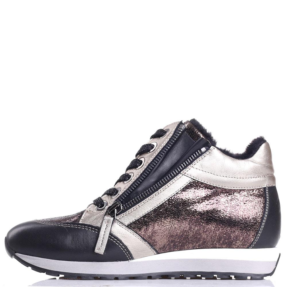 Женские кроссовки Tine's на меху