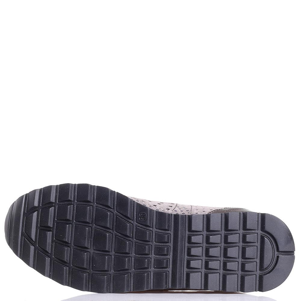 Серые кроссовки Tine's с перфорацией