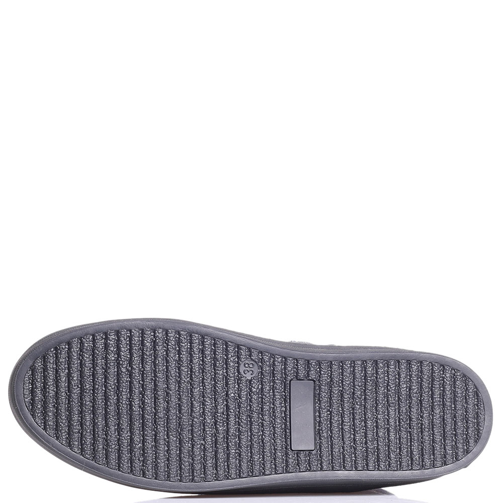 Зимние ботинки Tine's синего цвета