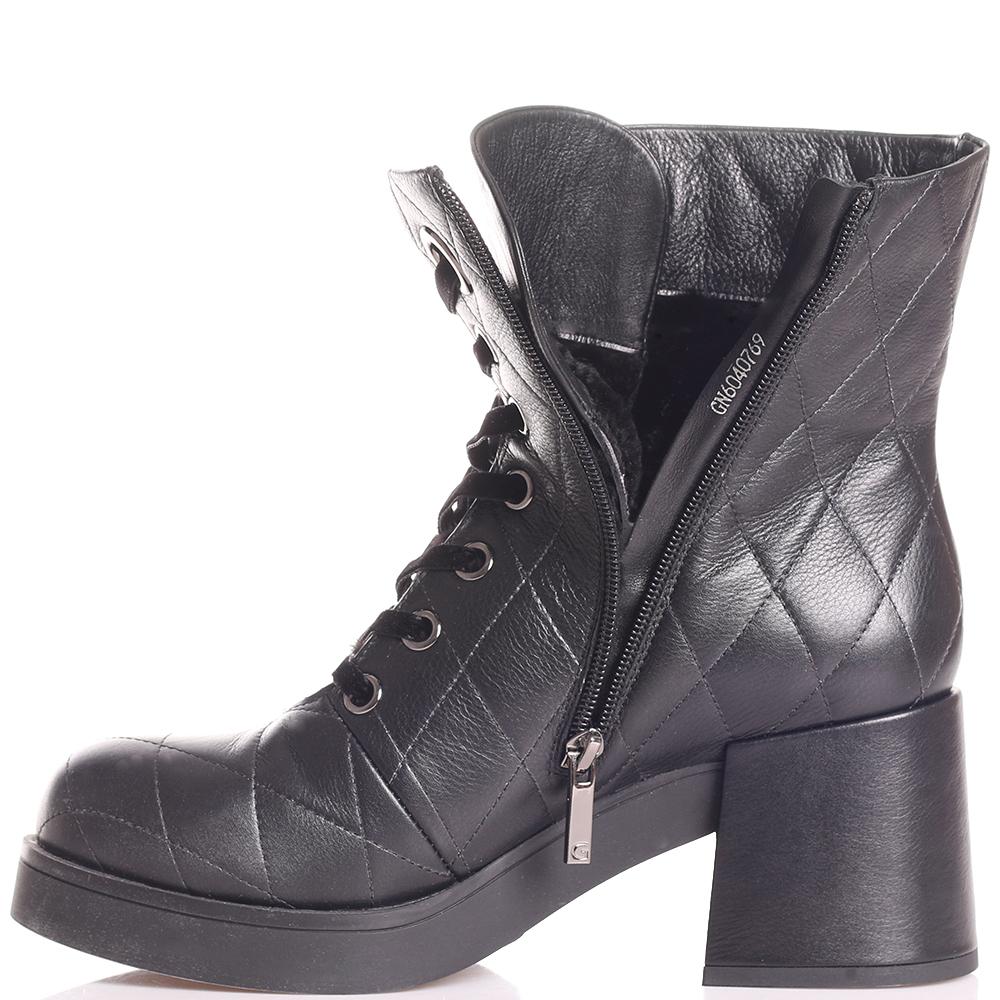 Ботинки Gianni Famoso на среднем каблуке