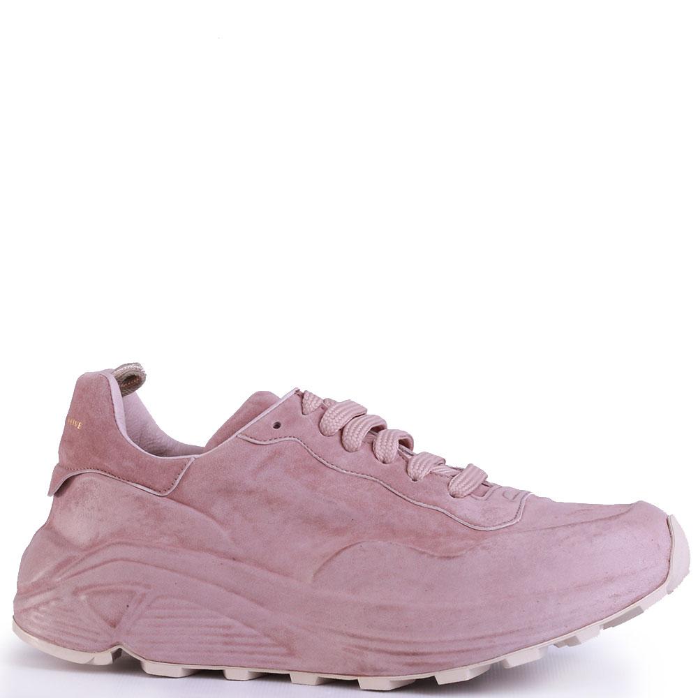 Кроссовки Officine Creative розового цвета