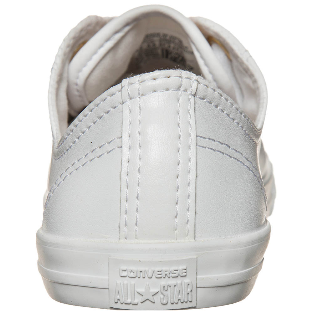 Низкие кеды Converse Chuck Taylor All Star Dainty белого цвета