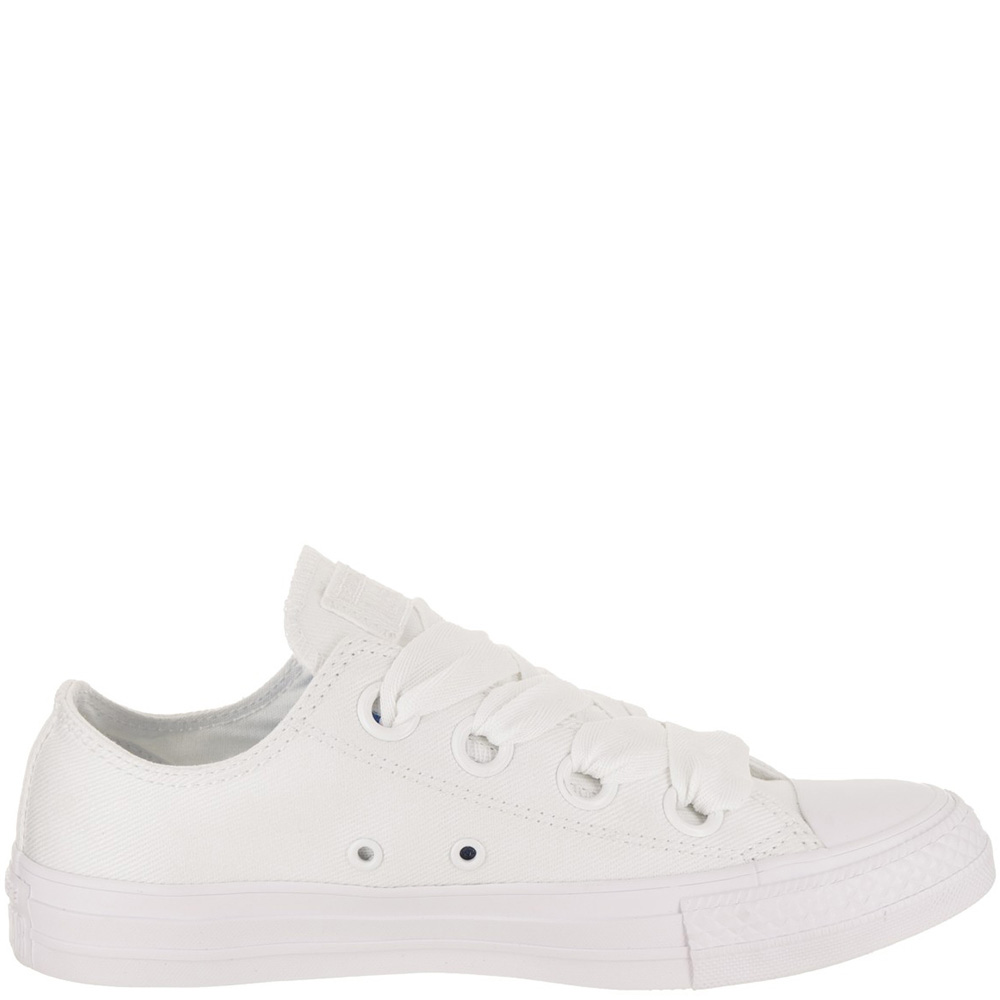 Кеды Converse Chuck Taylor All Star Big Eyelets Ox белого цвета