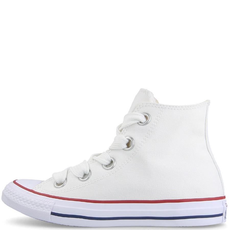 Кеды Converse Chuck Taylor All Star Big Eyelets Hi белого цвета