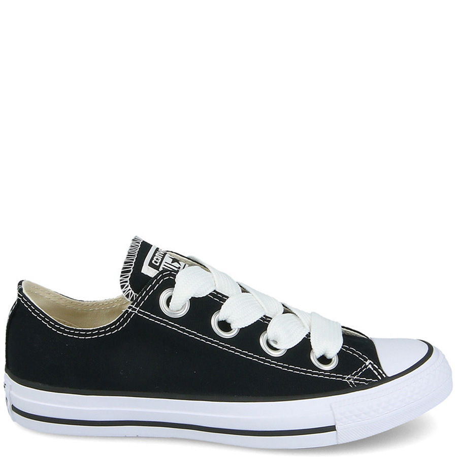 Кеды Converse Chuck Taylor All Star Big Eyelets Ox черного цвета