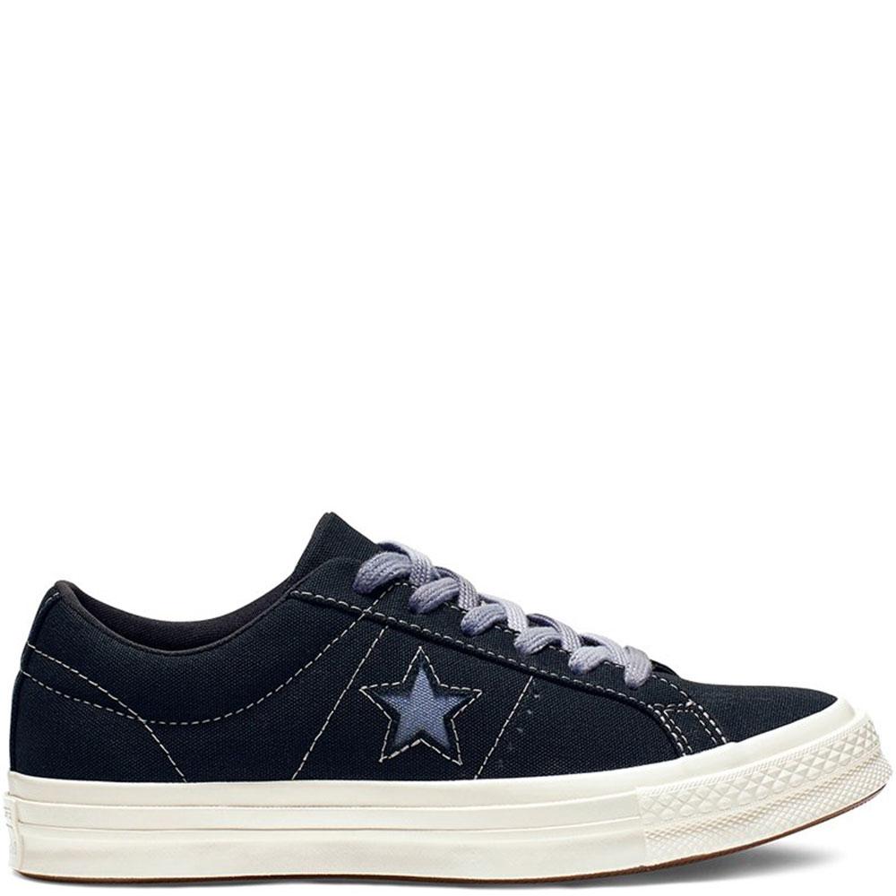 Темно-синие кеды Converse One Star Sunbaked с белой подошвой
