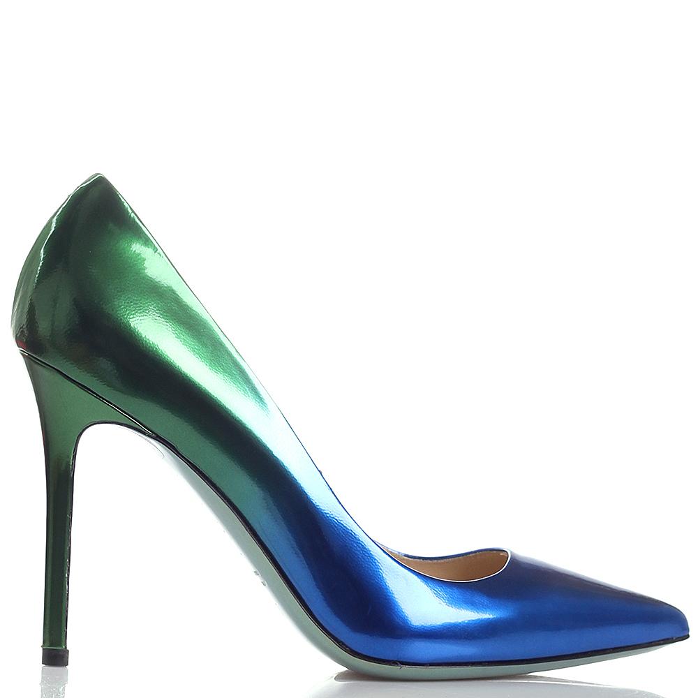 Женские туфли на шпильке Nando Muzi с лаковым блеском