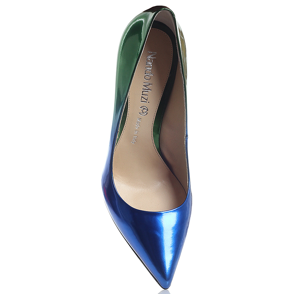 ba46f0efd ☆ Женские туфли на шпильке Nando Muzi с лаковым блеском купить в ...