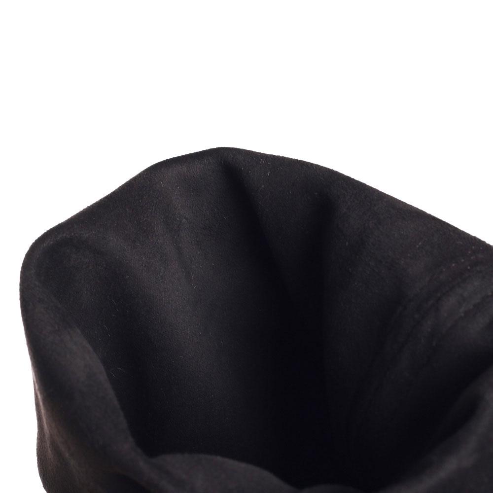 Ботфорты черные Fru.It Now со съемным декором на голенище