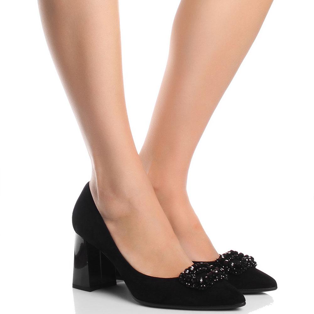 Туфли-лодочки Fabio Di Luna с декором из бусин