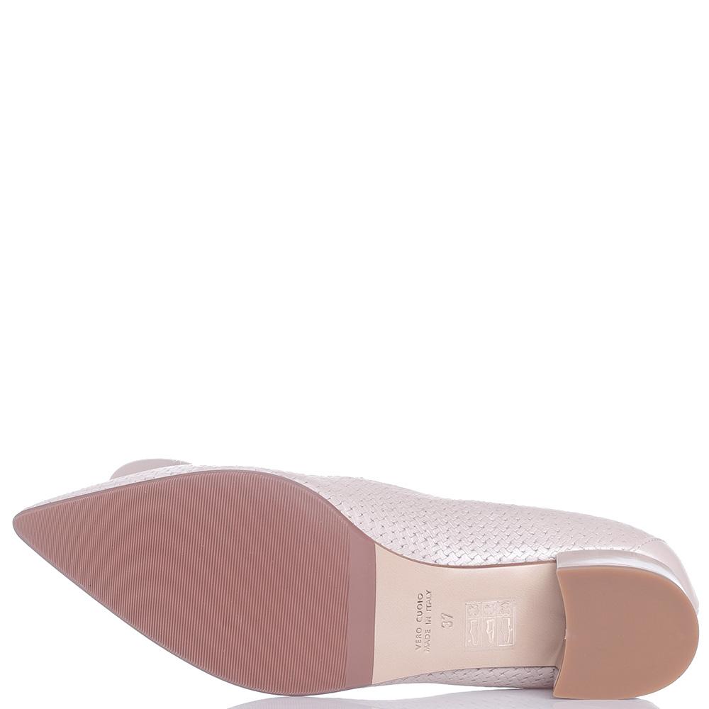 Туфли-лодочки Fabio Di Luna с декором-булавкой на носке