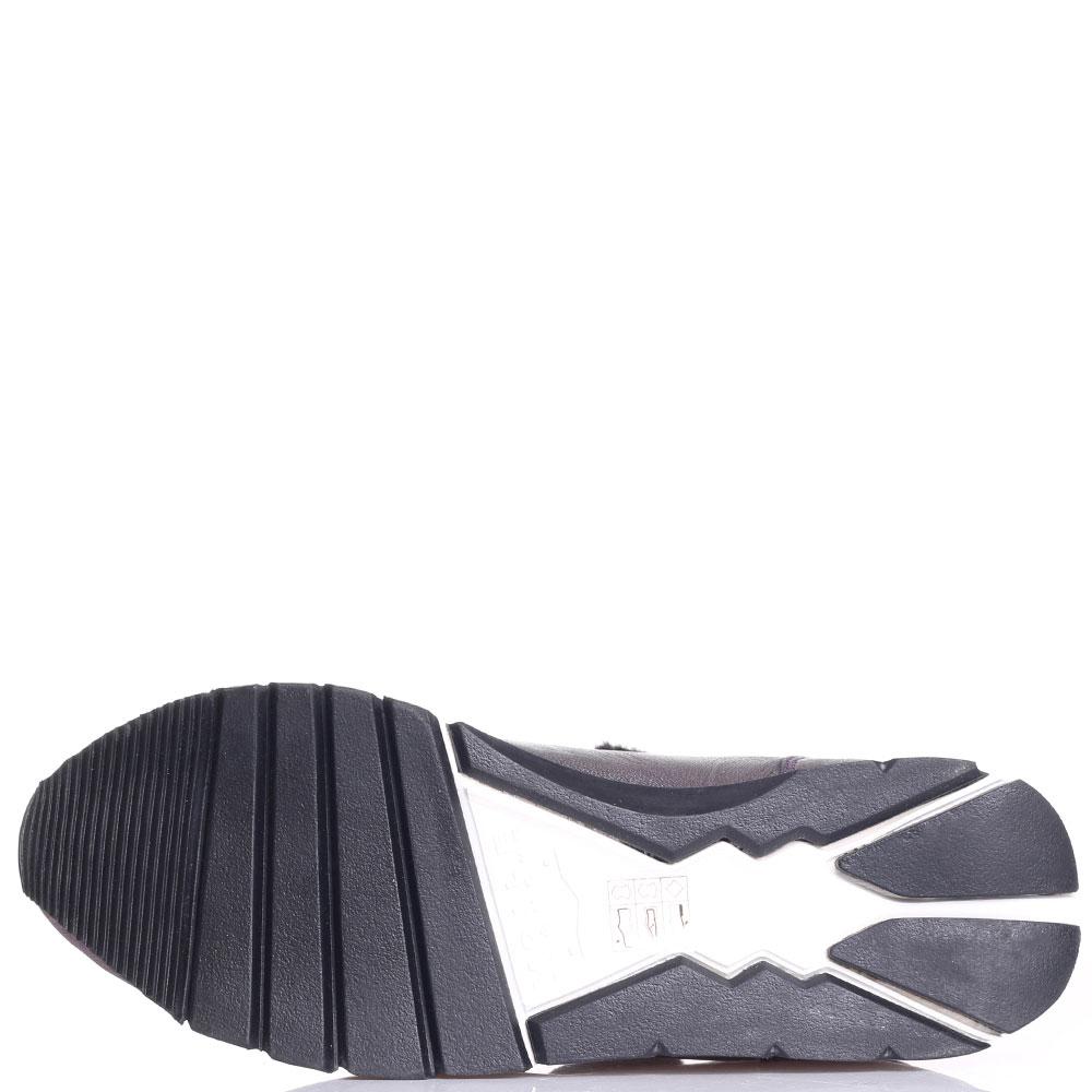Кроссовки Voile Blanche перламутрового цвета