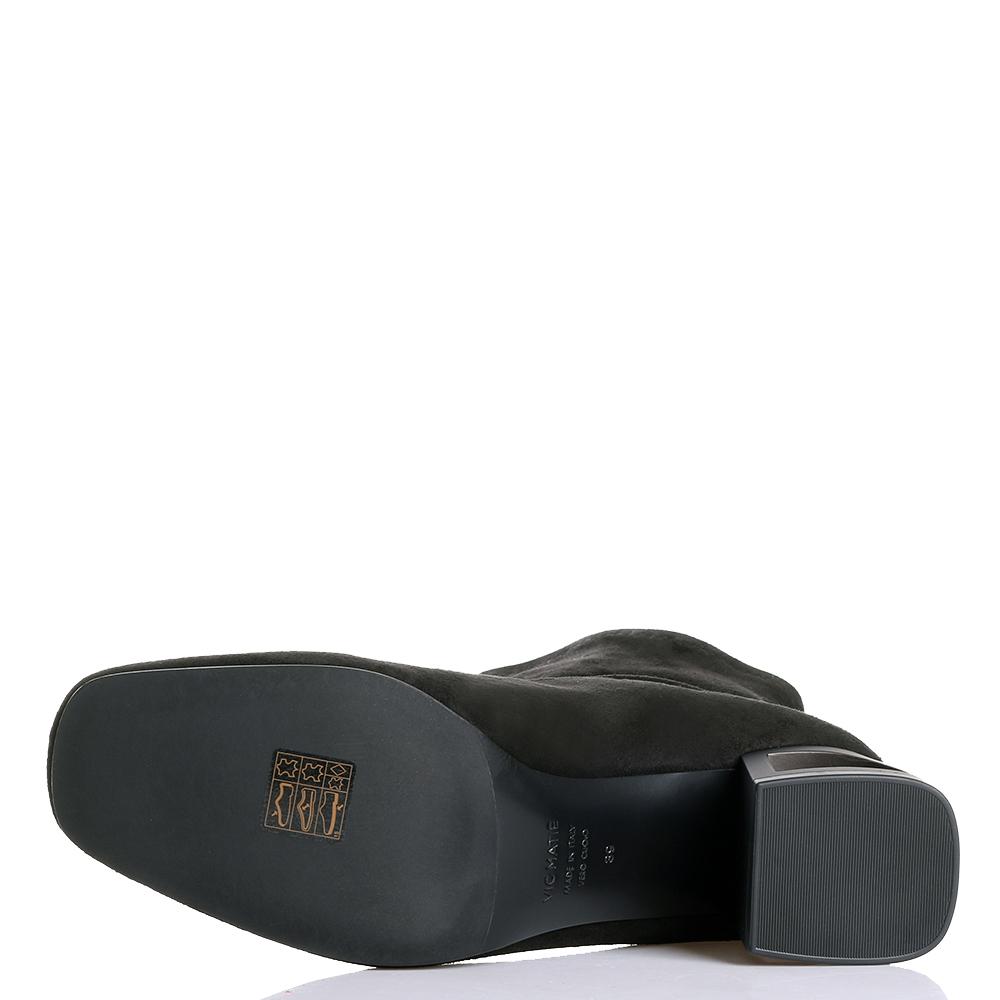 Черные ботильоны Vic Matie на декорированном каблуке