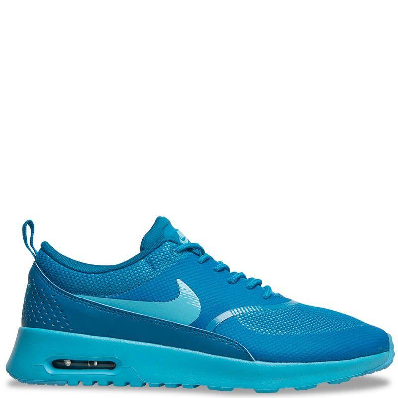 Кроссовки Nike Air Max Thea женские синего цвета
