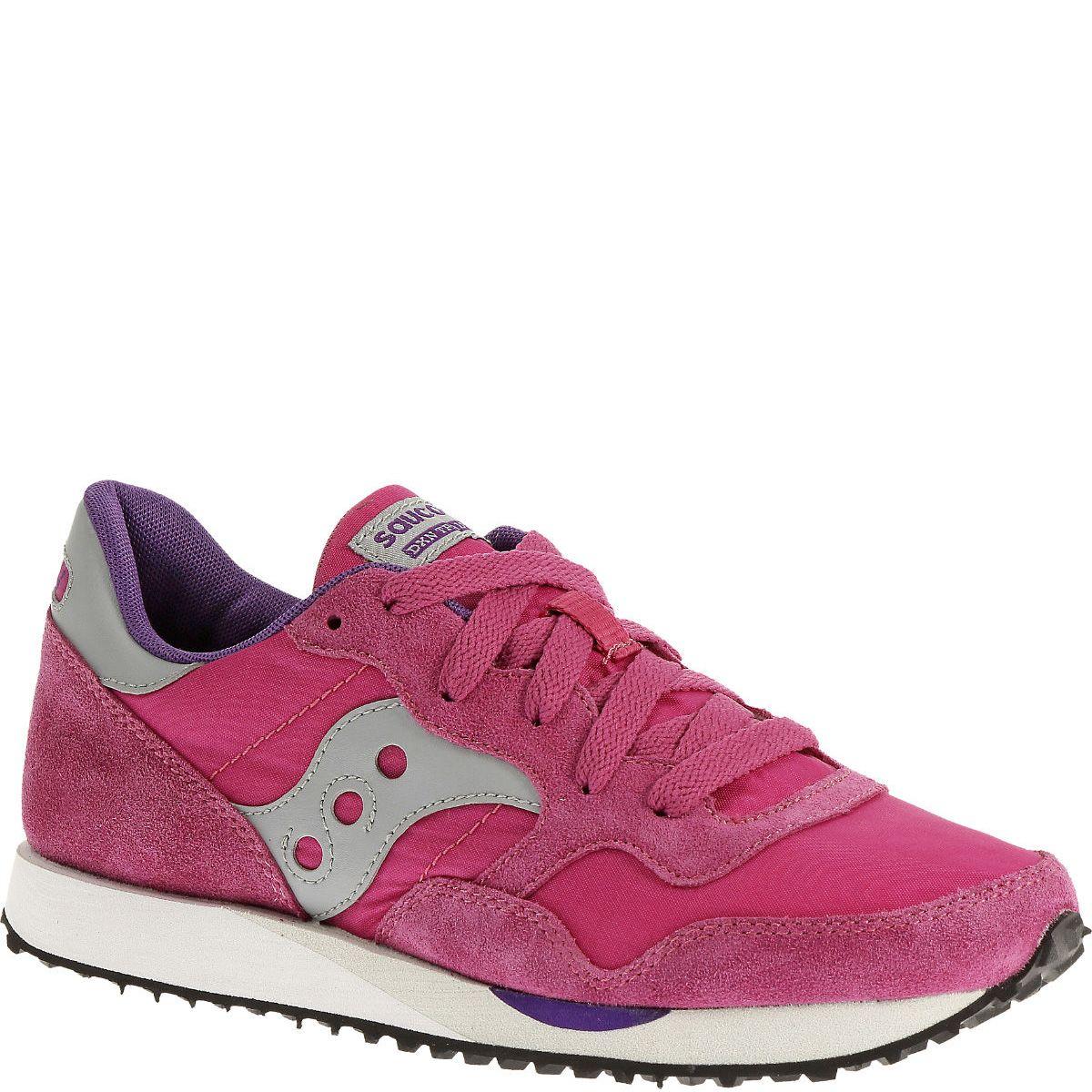 Розовые кроссовки Saucony DXN Trainer