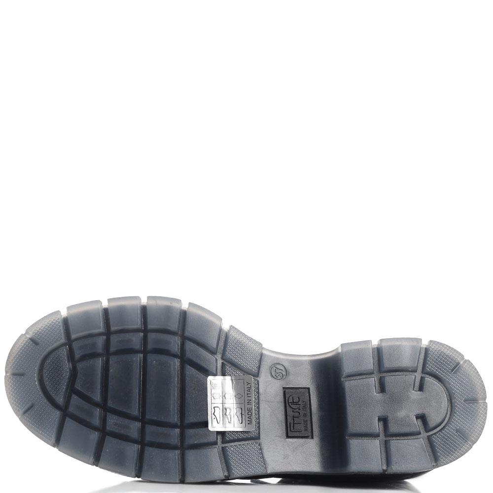 Стеганые ботинки Fru.It черного цвета