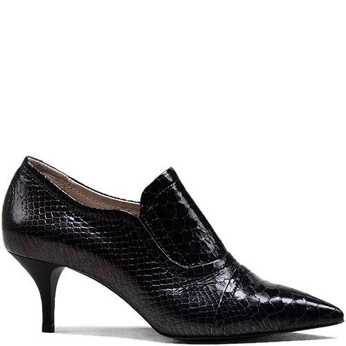 Женские туфли Modus Vivendi на низком каблуке с острым носком