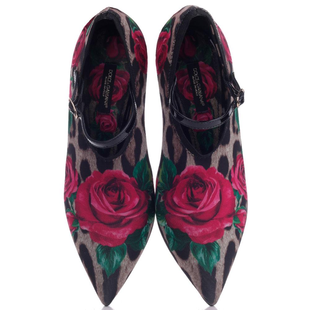 Закрытые туфли Dolce&Gabbana с ремешком