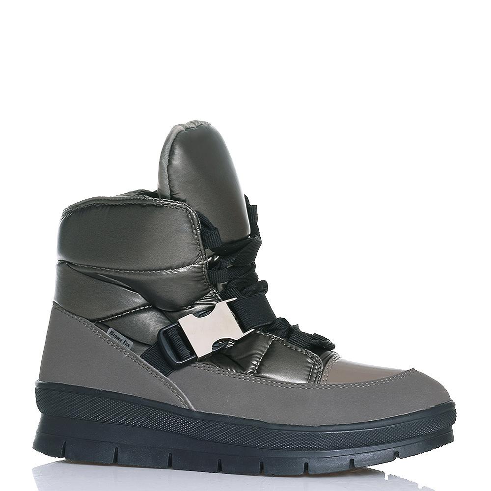 Коричневые ботинки Jog Dog с застежкой-фастекс