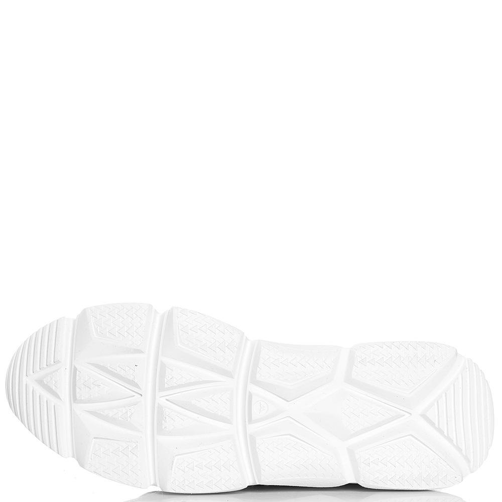 Высокие кроссовки Makris на шнуровке