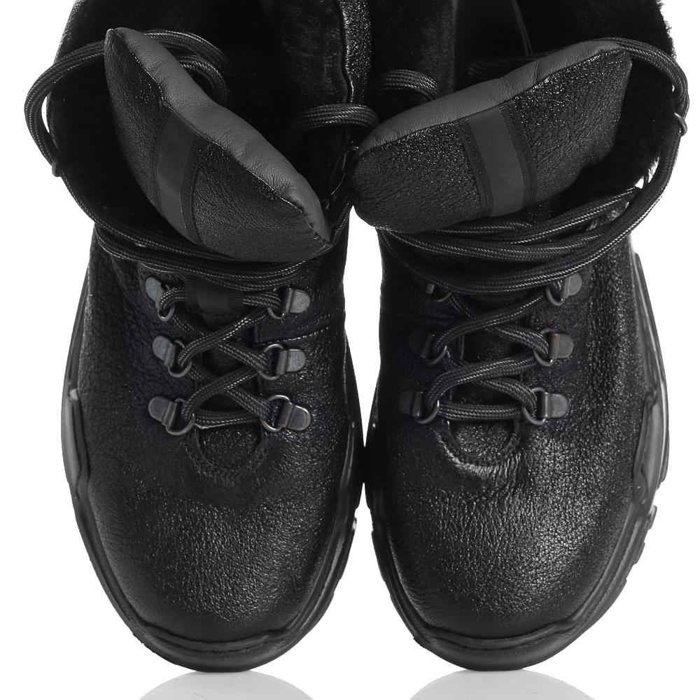 Высокие зимние кроссовки Fru.it на рельефной подошве