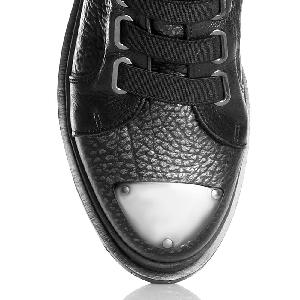 Ботинки Laura Bellariva с металлическим декором на носке