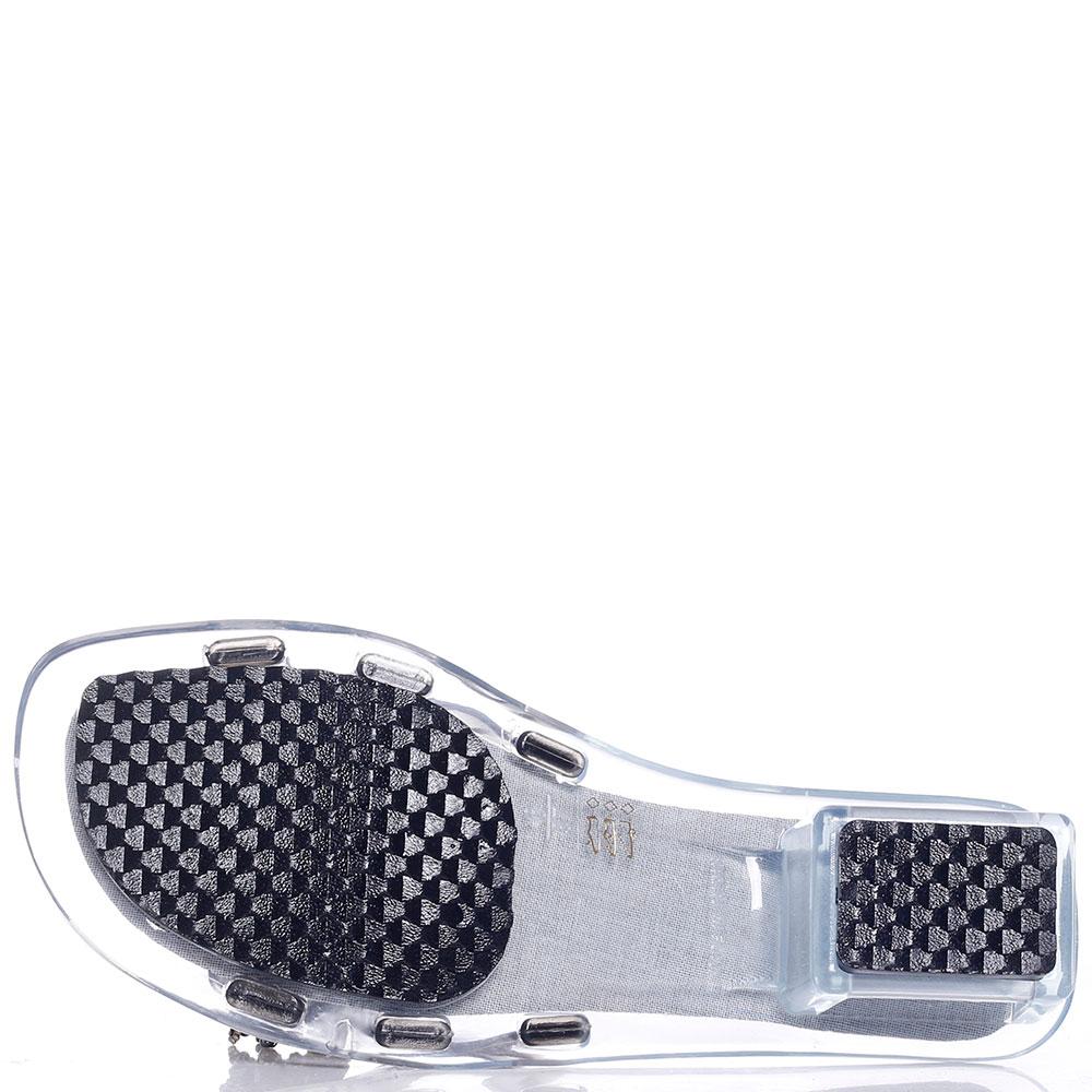 Мюли Kamoa на прозрачном каблуке