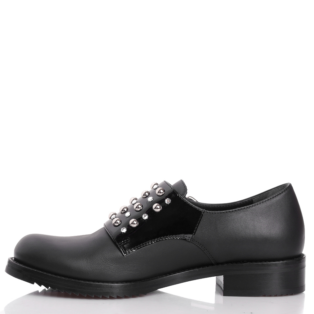 Черные туфли Loriblu с декором