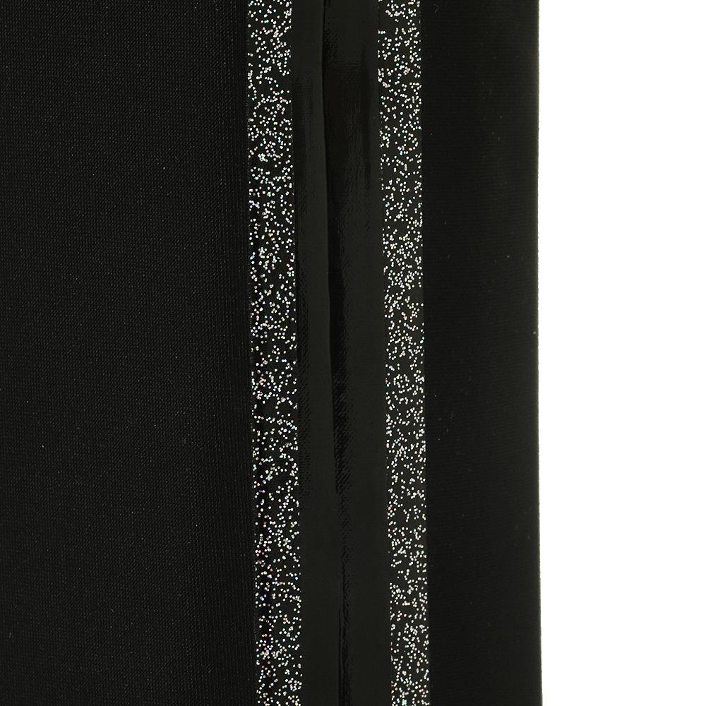 Черные ботфорты Strategia с декоративными полосками