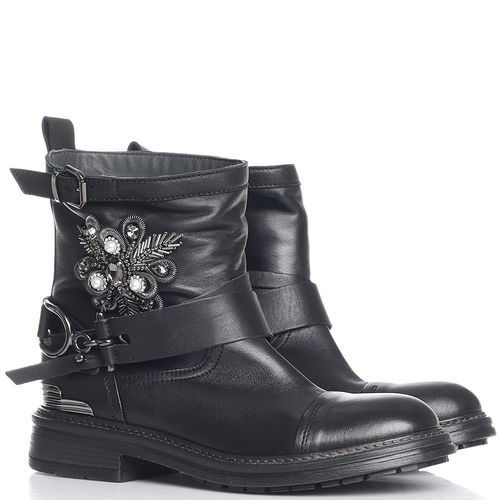 Черные ботинки Fru.It Now со съемным ремешком