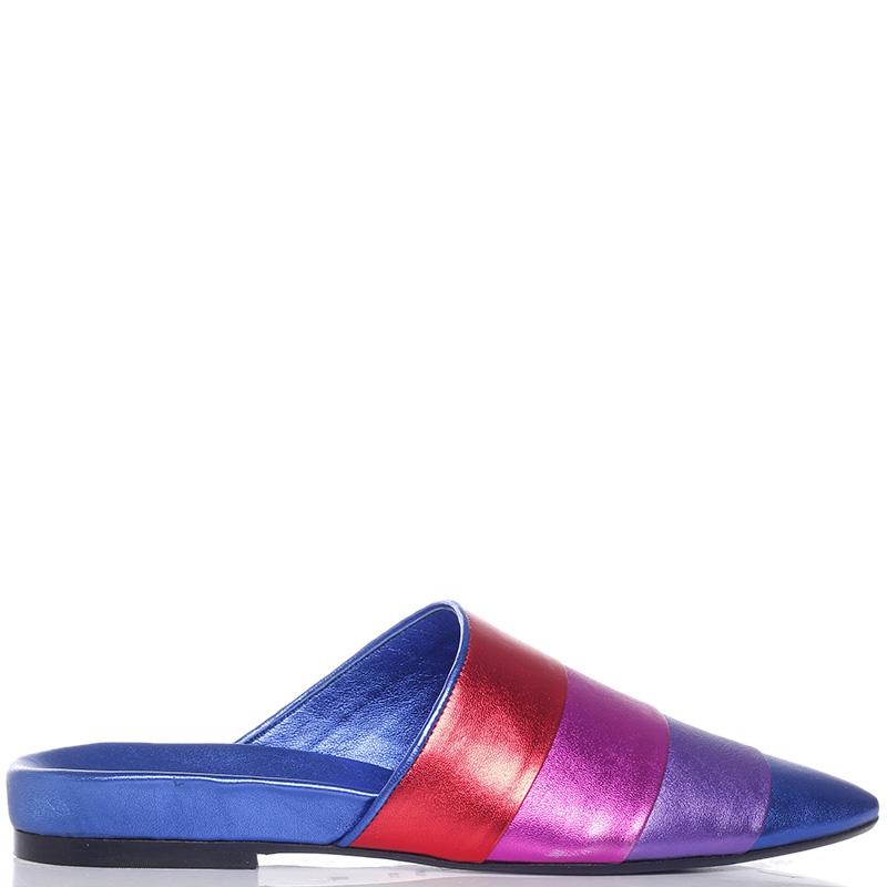 Цветные мюли Apepazza с острым носком