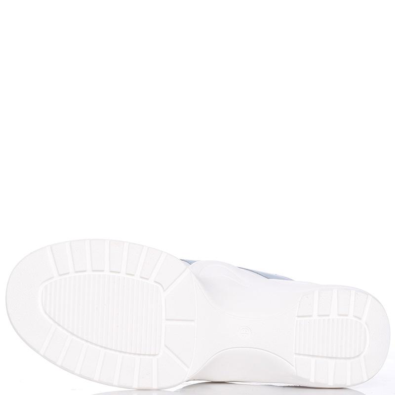 Кроссовки Nila&Nila белого цвета на толстой подошве