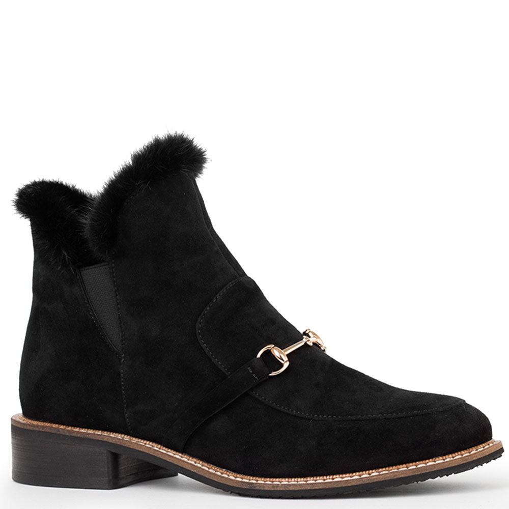 Черные ботинки Tommaso Marino из замши