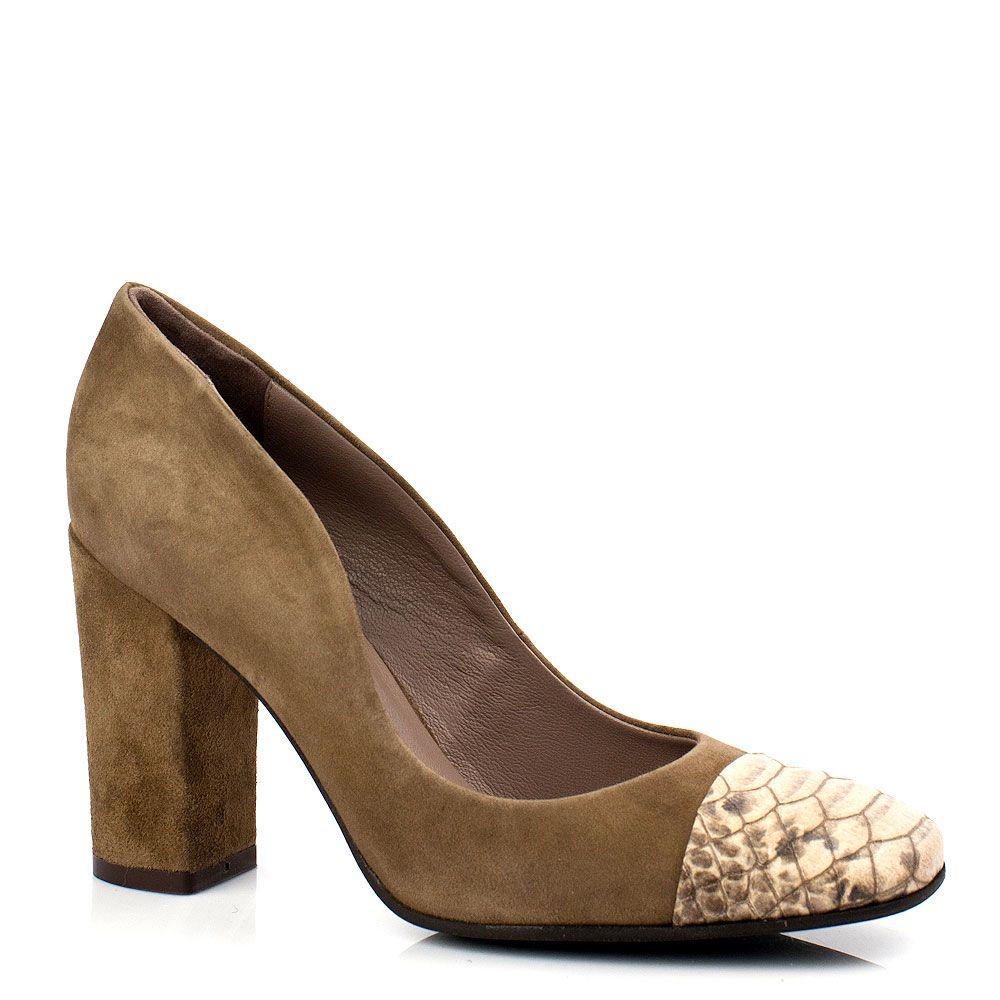 Замшевые элегантные туфли Bluzi