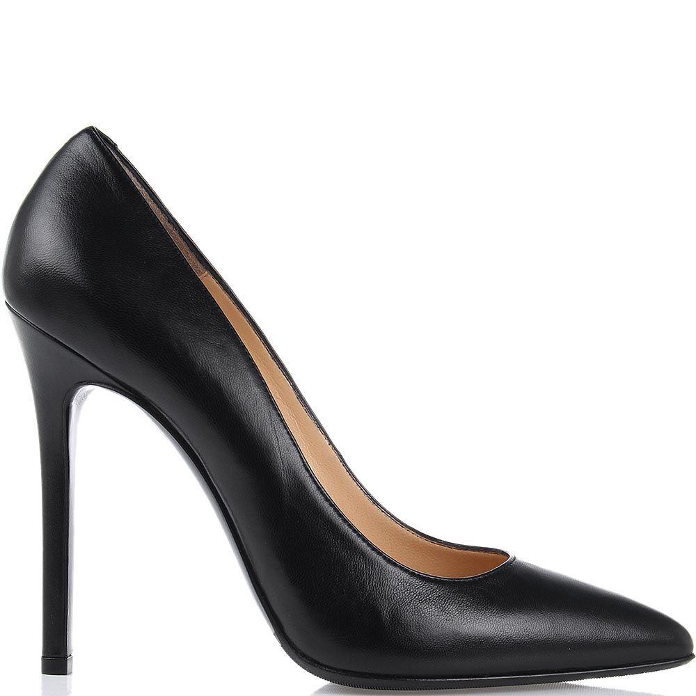 Туфли лодочки Nando Muzi черного цвета