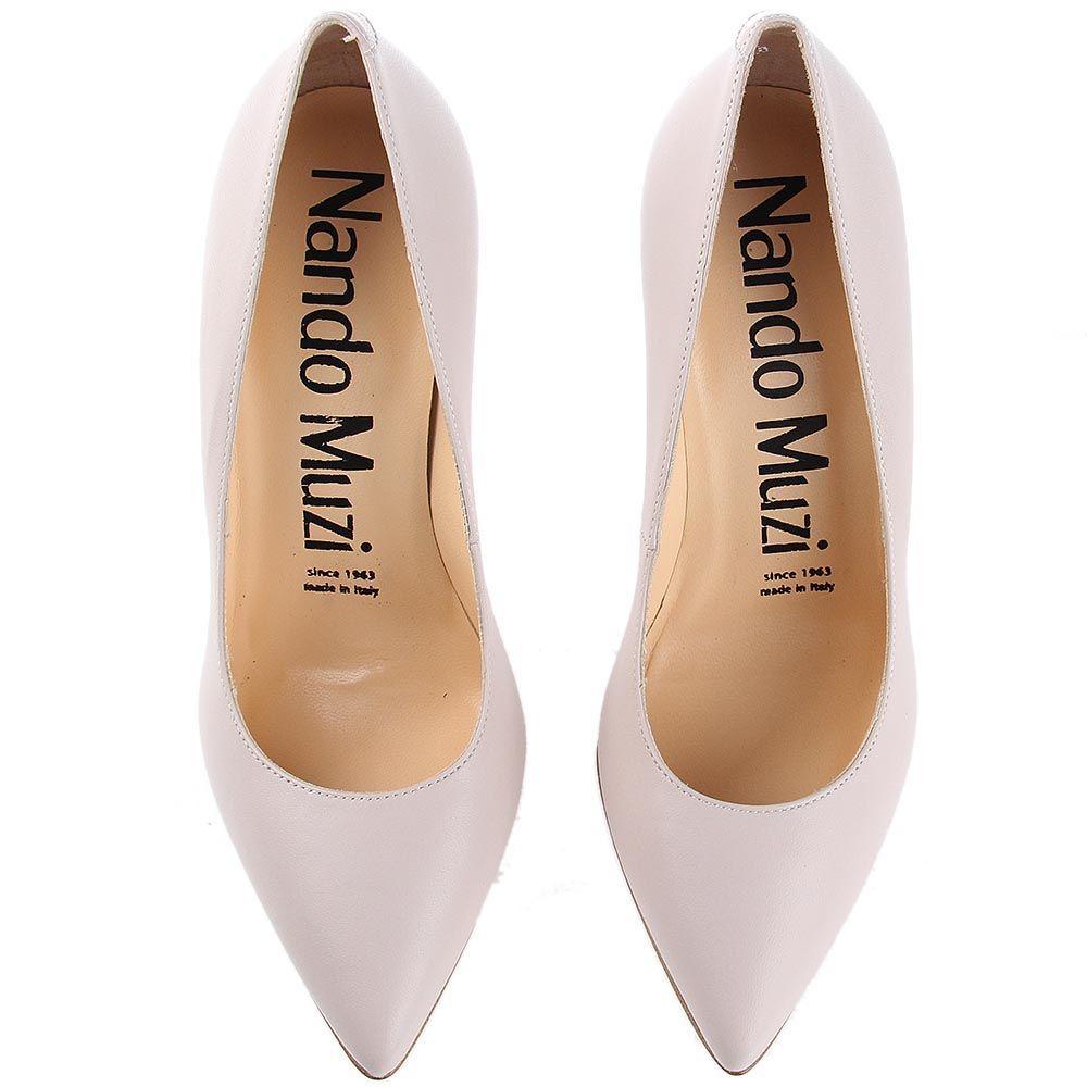 Туфли лодочки Nando Muzi телесного цвета