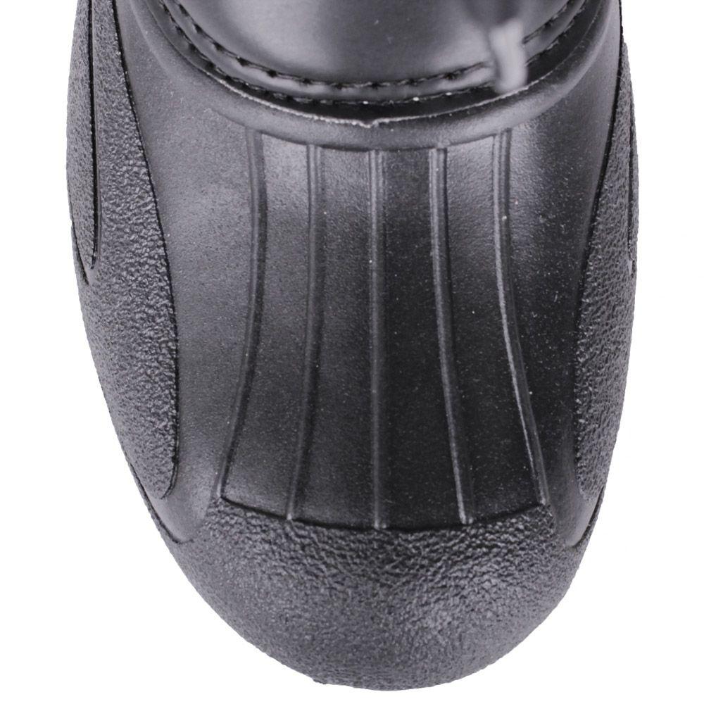 Сапоги-дутики Bressan черного цвета с резиновым низом