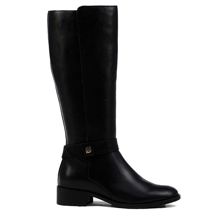 Сапоги женские Modus Vivendi черного цвета без каблука