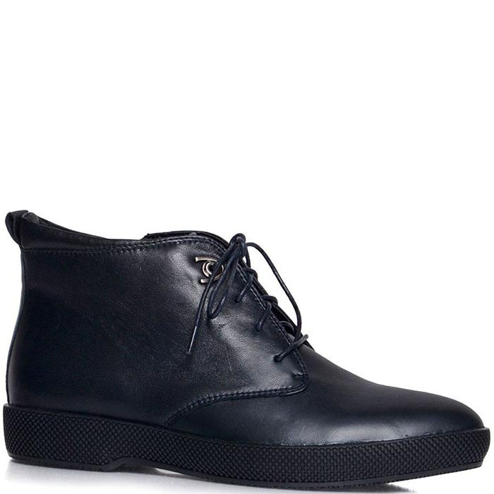 Ботинки Prego синего цвета на молнии