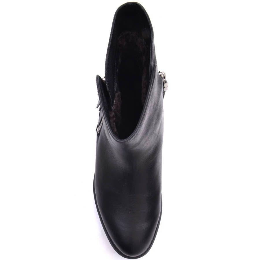 Ботинки Prego зимние из натуральной кожи на меху с двумя молниями